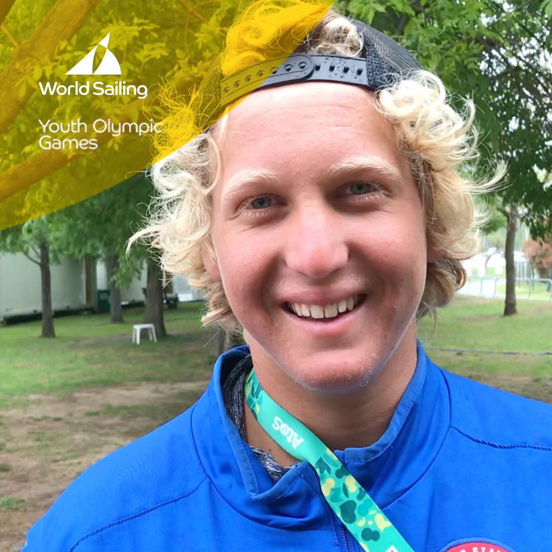 Cameron Maramenides 🇺🇸currently stands in 2⃣nd place in the Men's Twin Tip Kiteboarding competition. Learn more about this type of racing from Cameron! #kiteboarding @buenosaires2018 @youtholympics