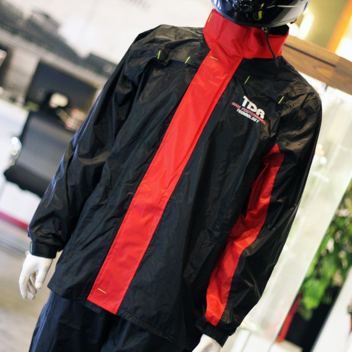 One Team Store Oneteamstore Twitter Jacket Tdr Raincoat Designed With Special Material For Durability Featured Net Inside The Reflective Stripping And Magic Tape To Prevent Leaking