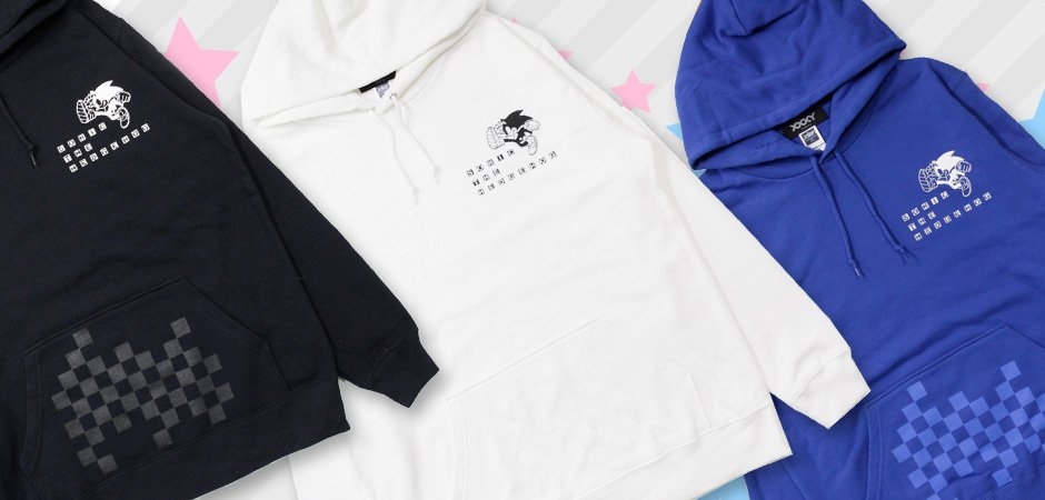 昼休みになにげなく「ZOZOTOWN」を見ていたら【XXXY TOKYO】チェストロゴチェッカーポケットパーカーなどソニック・ザ・ヘッジホッグの服がタイムセール中でした。残り57時間とのことです。  https://t.co/xU6xFCF1ND  https://t.co/UUi4JVeJOH