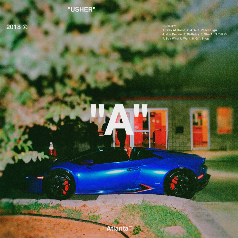 """Usher has just released his surprise new album, """"A"""", with production from Zaytoven! Buy and stream #A here:  http:// usheratl.com  &nbsp;  <br>http://pic.twitter.com/c14p5VHOUg"""