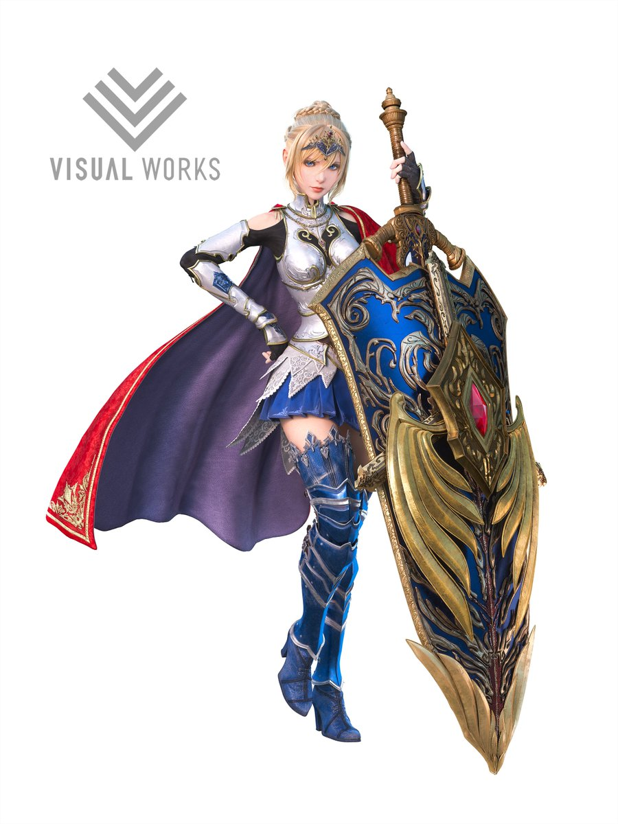 Visual Works Sqex Twitter પર シャルロット裏話 生守です