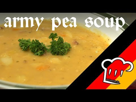 How to cook: ARMY PEA SOUP (Armee-Erbsensuppe) Recipe # 039 https://t.co/aeFR7FagKL https://t.co/ZtS8ATnVKH