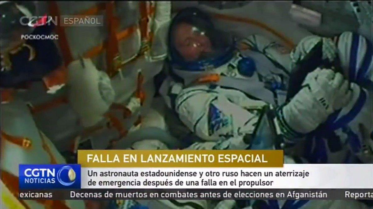 CGTN en Español's photo on #Soyuz