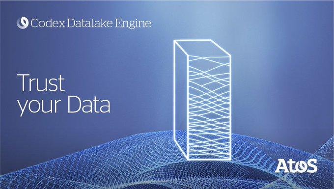 Neu: Codex #Datalake Engine von Atos. Damit lassen sich komplexe Datensätze sicher und kontroll...