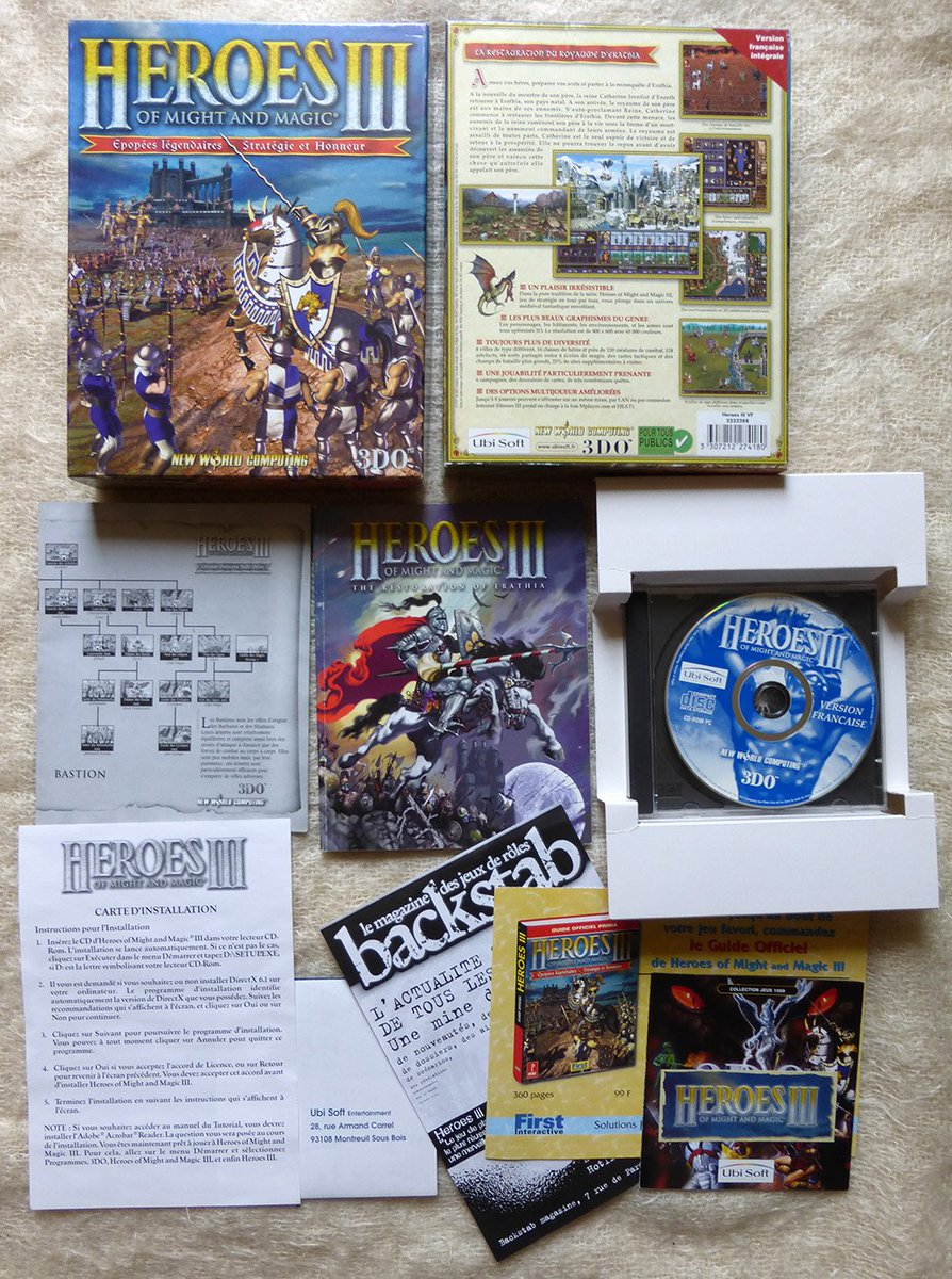 Barbarian Bros On Twitter 1 2 Heroes Of Might And Magic Iii The