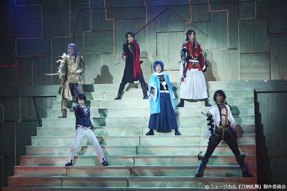 「ミュージカル『刀剣乱舞』 ~幕末天狼傳~」 10/12(金)よる9:00⇒ https://bit