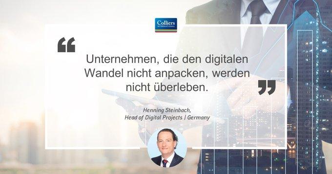 Henning Steinbach erklärt im Interview worin die Chancen und Risiken der #Digitalisierung in der #Immobilien-Wirtschaft liegen:  t.co/SzmNCh2xpK