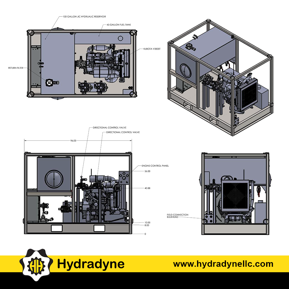 Hydradyne Llc Hydradynellc Twitter Gms Engine Diagram All Engineering Design Fabrication Assembly Testing Of The Hydraulic Power Unit Was Completed By Next Step Is Onsite Installation With
