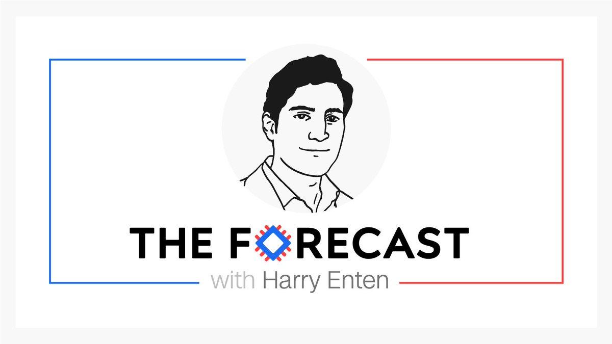 . @CNNPolitics Launches 'The Forecast with Harry Enten' @ForecasterEnten https://t.co/HTI5yW24CC