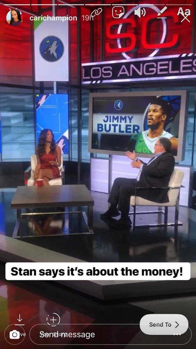 Michele Steele On Twitter What Is The Jimmy Butler Drama Really About Stan Van Gundy Knows Ht Carichampion Ig