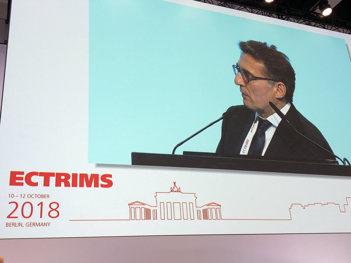 Phase II study of #Evobrutinib in active relapsing #MS met primary endpoint. Excellent Late Breaking News Platform presentation by @XMontalban #ECTRIMS2018 @cemcat_em<br>http://pic.twitter.com/wYiljE4uSG