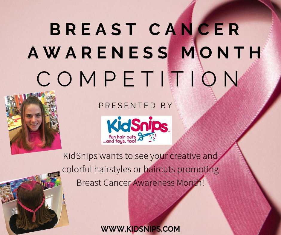 test Twitter Media - KidSnips presents THE BREAST CANCER AWARENESS MONTH COMPETITION!  For details, read the guidelines below. Good luck to all participants! #BreastCancerAwareness https://t.co/me310hmtWT