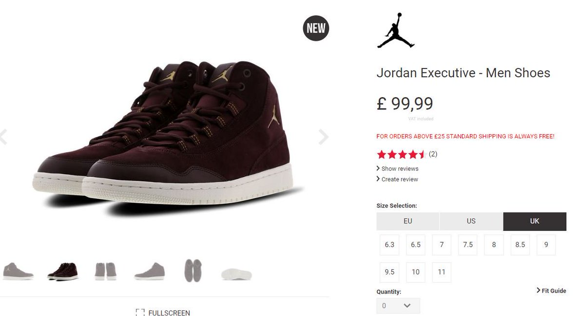 Jordan Executive Burgundy