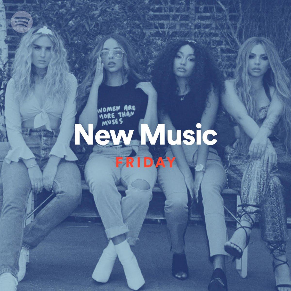 Say hello to #NewMusicFriday with @LittleMix   https:// spoti.fi/NMFSA  &nbsp;  <br>http://pic.twitter.com/4OTR0Rpw3y