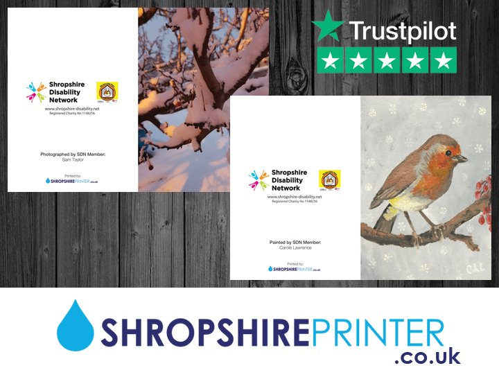 Shropshire Printer On Twitter We Had Great Pleasure In Using These