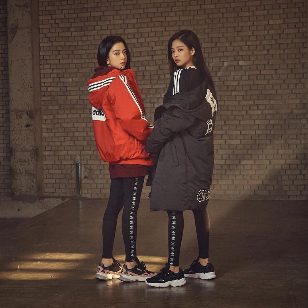 Global Blackpink S Tweet Pic Blackpink Rose And Lisa X Adidas