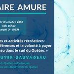 Image for the Tweet beginning: Séminaire de recherche jeudi prochain,