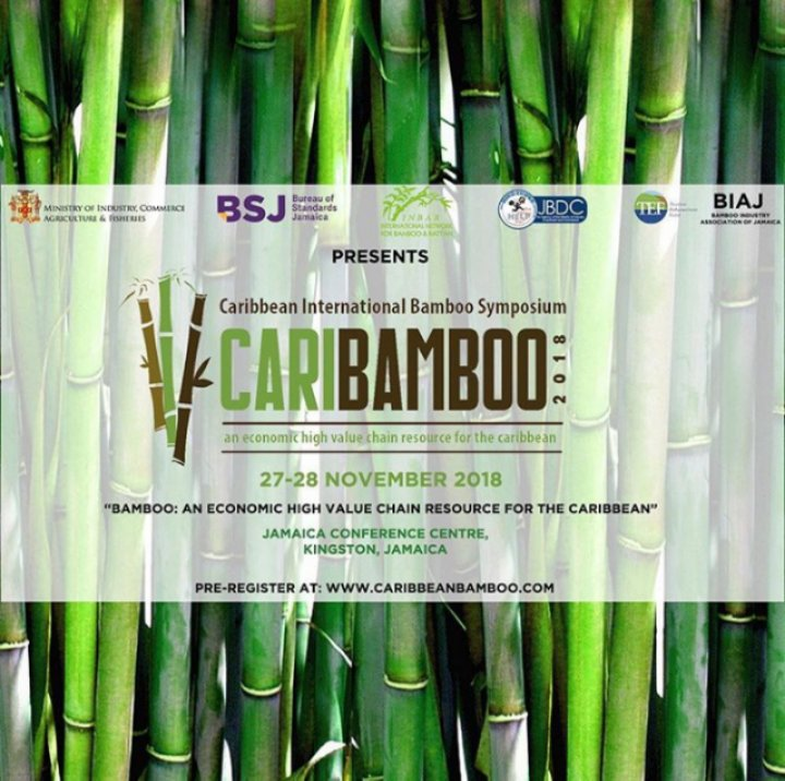 The 2018 Caribbean International Bamboo Symposium is COMING SOON!   Read more:  http:// ow.ly/jUCj50jnNnJ  &nbsp;    Sign up:  http://www. caribbeanbamboo.com  &nbsp;    @CariBamboo2018 @inbarlac @jqwu_wu @worldbamboo @caribnews<br>http://pic.twitter.com/uGVGioA0ET