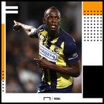 Usain Bolt at the Olympics: 🥇🥇🥇🥇🥇🥇🥇🥇  Usain Bolt on the football pitch: ⚽⚽