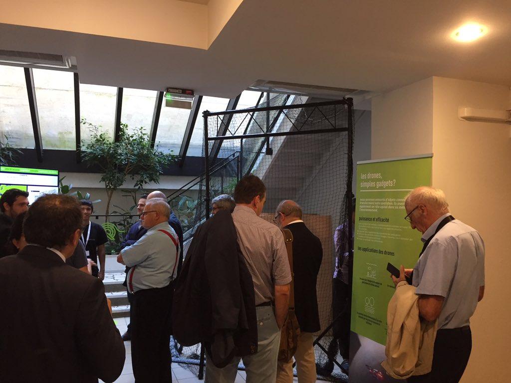 @Bdx_Technowest est présent à l'ouverture des journées de l'#Innovation de @suezFR à #Bordeaux !