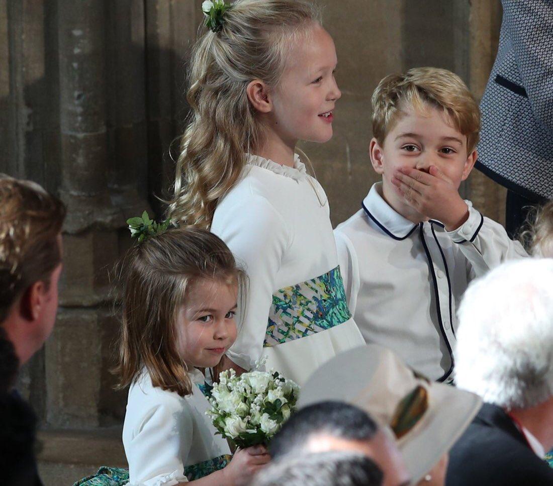 Charlotte �� #RoyalWedding ������ https://t.co/0X2bikGvk7