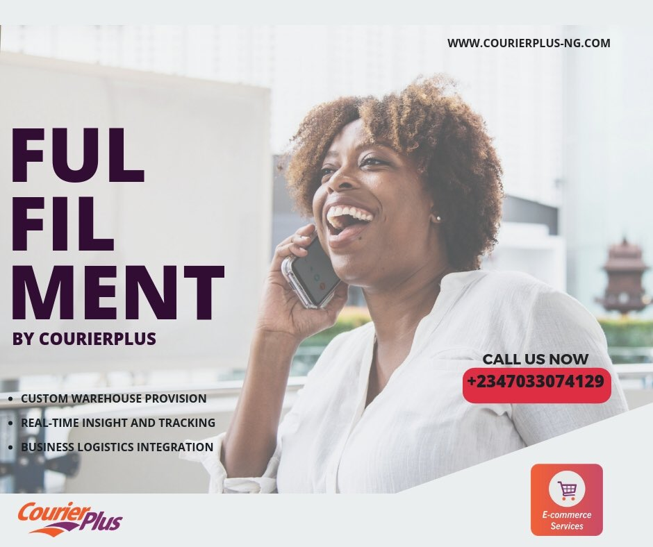Enjoy true fulfilment! We provide scores of readily customizable solutions to our E-commerce clients.  Call us now to get registered on the platform . #ecommercedelivery #courierplus