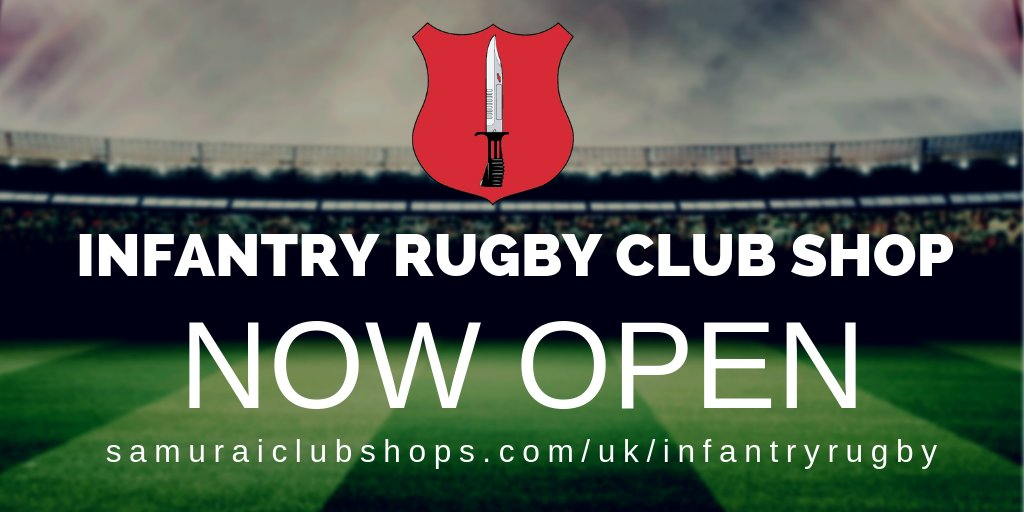 test Twitter Media - We are pleased to announce that the new @InfantryRugby club shop is now open! Access the club shop here>>https://t.co/vLiq39KPhd #SamuraiFamily https://t.co/QxCRVJ0sRw