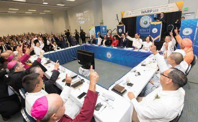 &quot;I believe that peace is approaching every day due to the activities of ChairmanMan Hee Leeof #HWPL,&quot; said H.E.Viktor Yushchenko, Former President ofUkraine  #918WARP #GlobalGoals  #UNGA #peacebuilding  #ThursdayThoughts  #DPCW <br>http://pic.twitter.com/n5Pvh1Anm3