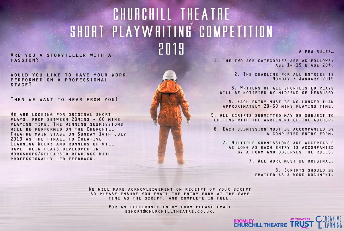 Churchill Theatre Bromley ✨ on Twitter: