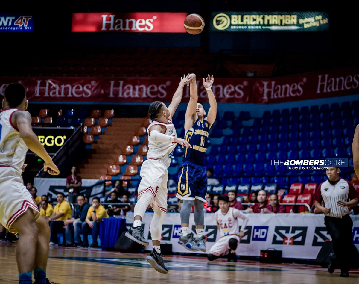 JRU Heavy Bombers  def. EAC Generals.  photos: kahlil calamiong october 12, 2018 filoil flying v centre  #NCAASeason94 #GalingNCAA<br>http://pic.twitter.com/XQc1eTcea4