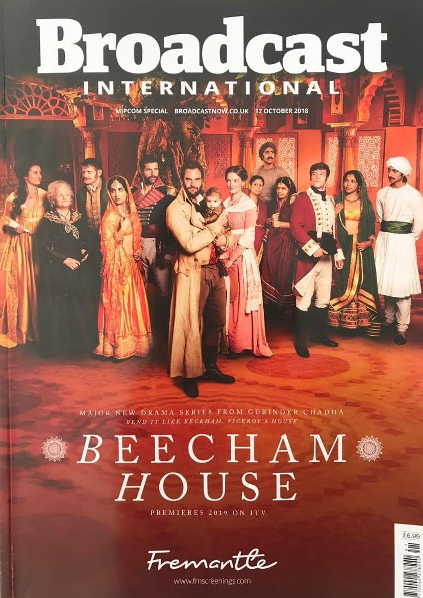 Very excited to see our Leo Suter and the cast of @GurinderC's @beechamhouse on the cover of @Broadcastnow for @ITV #leosuter #beechamhouse #broadcastmagazine