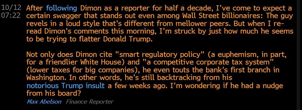 Some good Jamie Dimon insight here via @maxabelson @TheTerminal