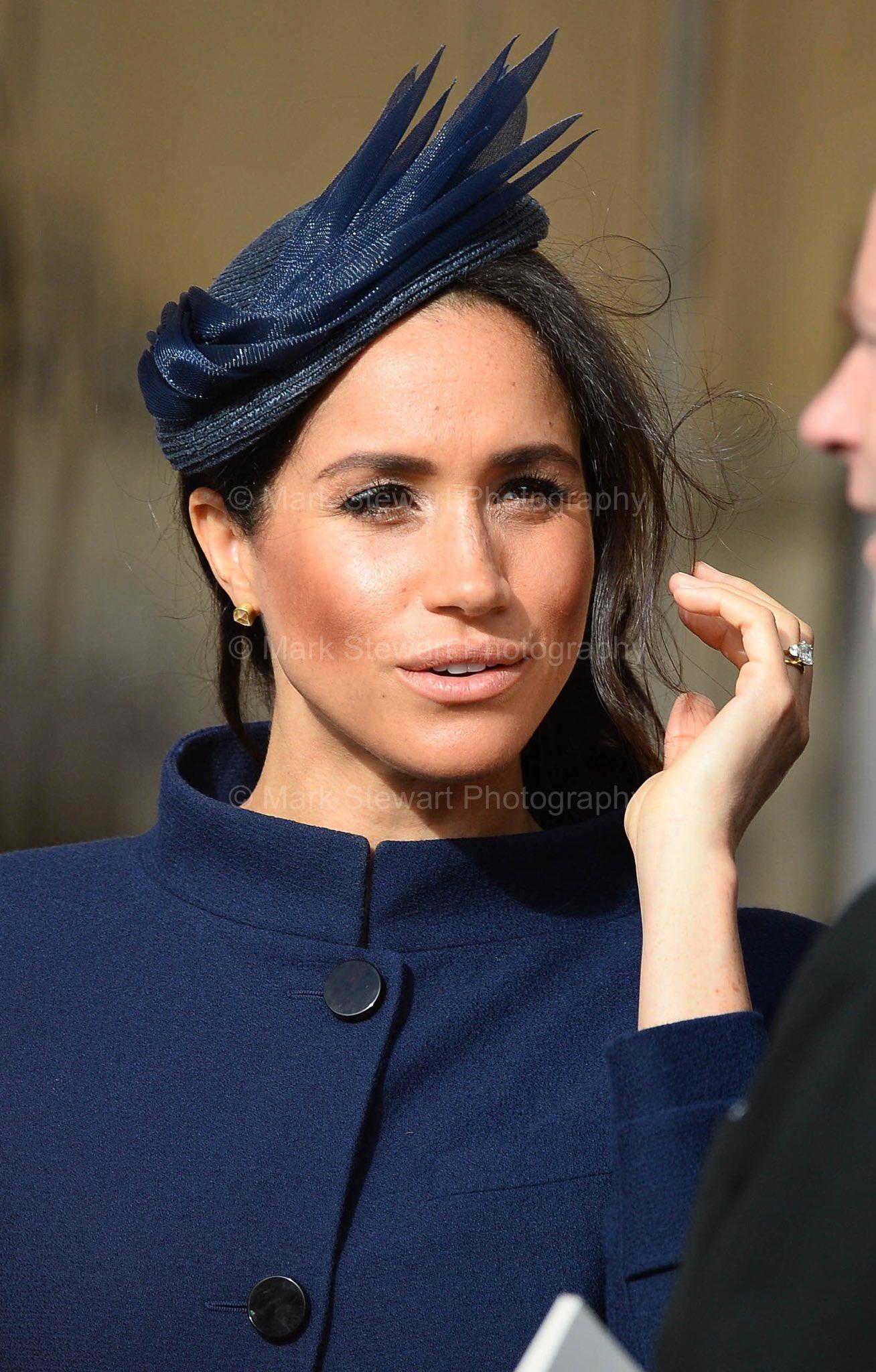 The Duchess of Sussex at today's #RoyalWedding https://t.co/vlc75ttTlk