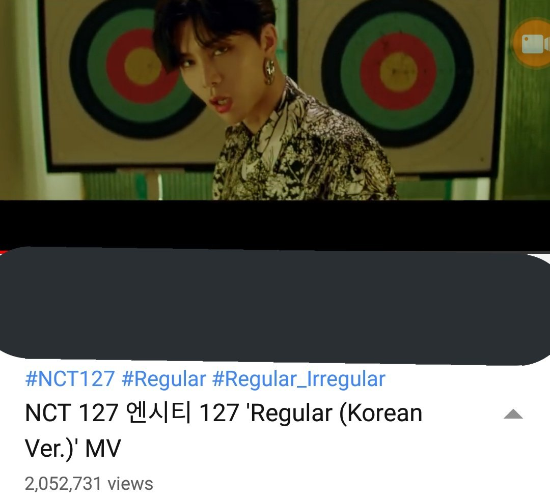 no. of views as of now:  2, 052, 731 million views   does youtube freezed out the views again? or some of us are just lazy to stream?   #NCT127 #NCT127_Regular_Irregular #NCT127_Regular #Regular_Irregular #NCT127_Regular_Kor <br>http://pic.twitter.com/X57R33Uml0
