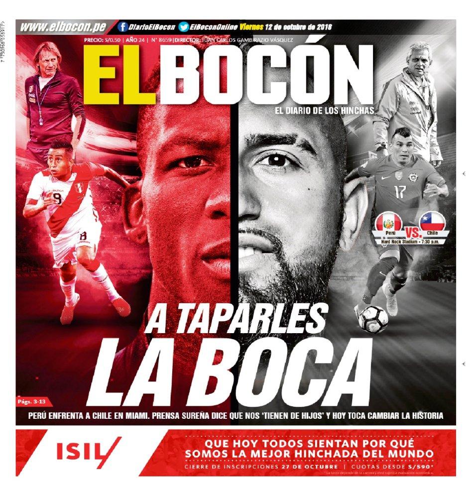 Diario El Bocón On Twitter Hoy En Laportadadeelbocón Más