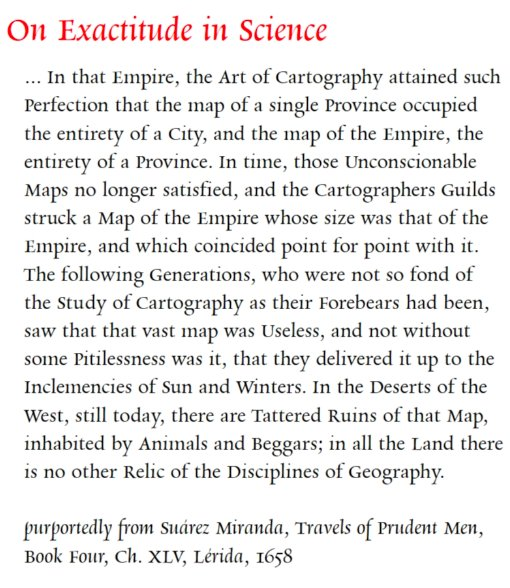 I'd like to think that Jorge Luis Borges would have been a fan of that NYT über-map.