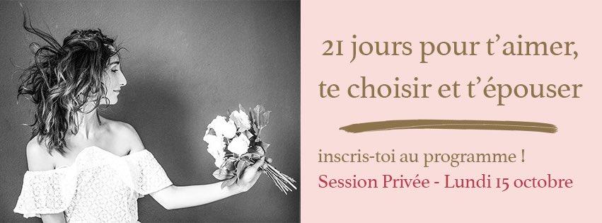 21 jours pour s'épouser : http:// www.cestdecidejemepouse.com/21jourspoursepouser#coaching #programme  - FestivalFocus