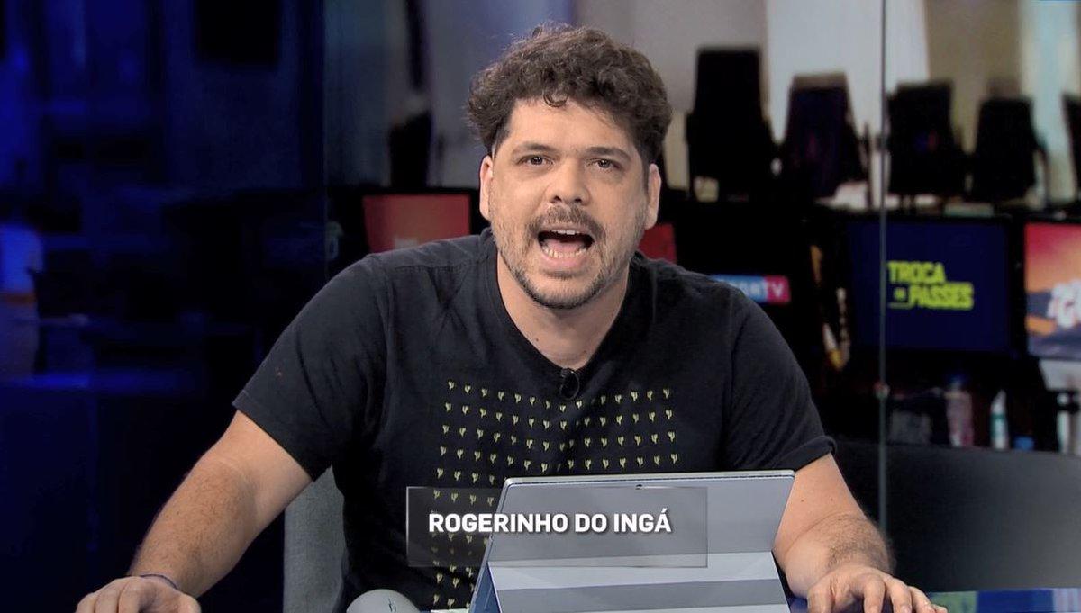 Abertura ÉPICA do #RedaçãoSporTV com o monstro Rogerinho do Ingá no comando 😂😂😂