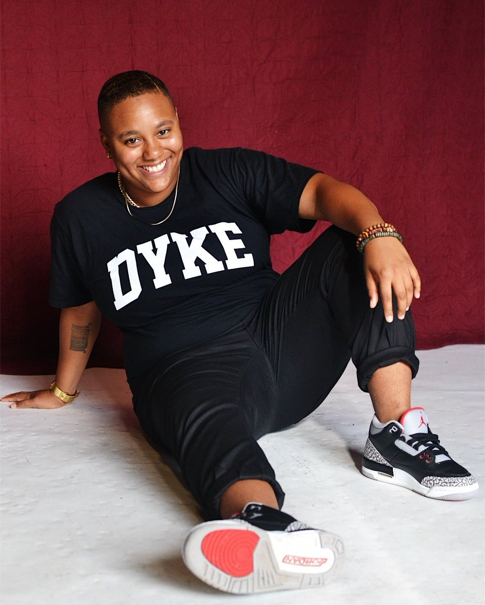 A Dyke Advocate.  A Dyke for the people. #ADykeThatDoes   So many amazing things happening for me, which in turn, is for ALL of US.  Everything I do, is for my people.  For ALL my niggas in the trenches and for those who may not be able to go to war..  We in this thang!