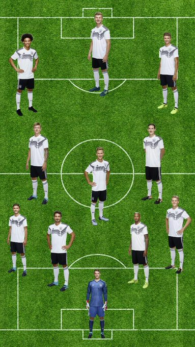 Provável XI da Alemanha contra a Holanda [Kicker] #NEDGER Photo