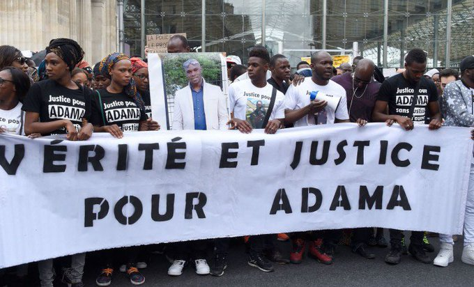Demain, 14h30 à Gare du Nord : #JusticePourAdama Photo