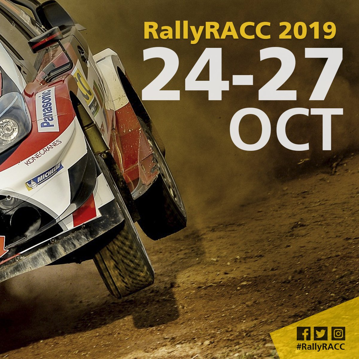 Calendario Wrc 2019.Rallyracc On Twitter Calendario Wrc 2019 Calendari Wrc 2019