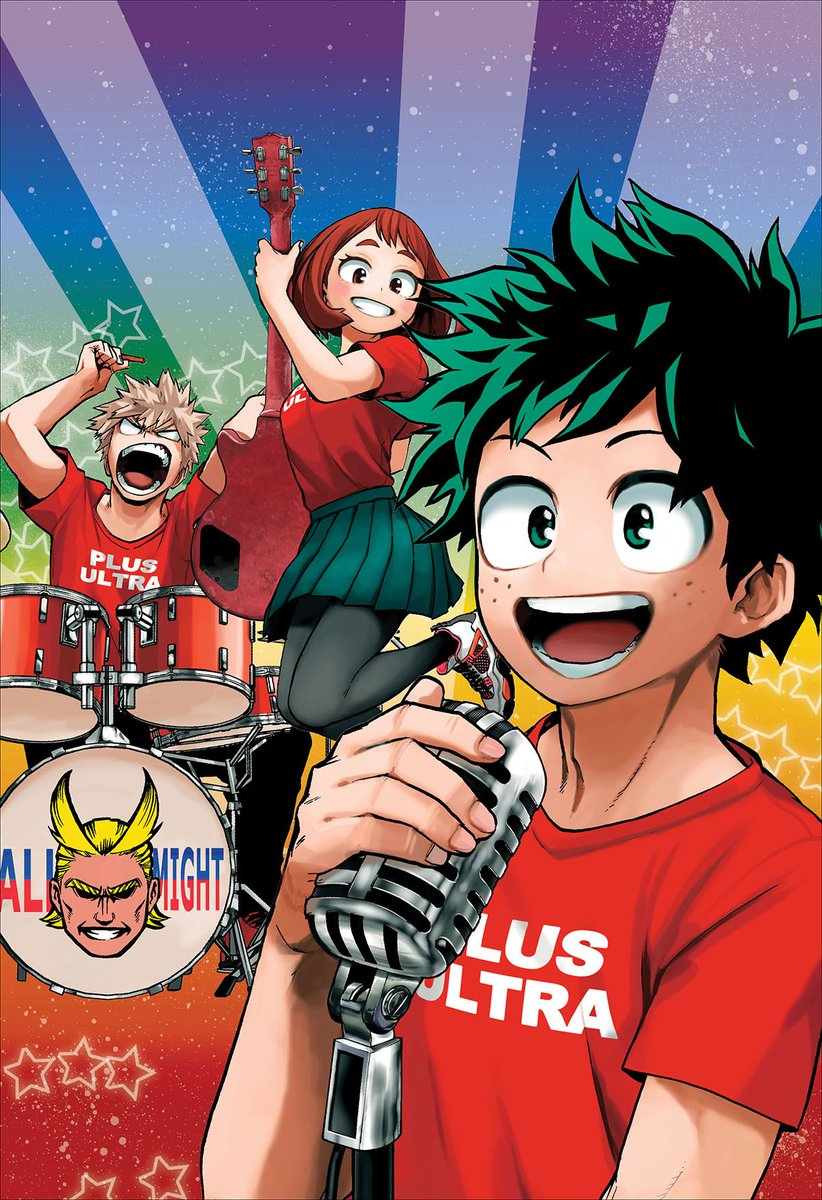 Some gorgeous My Hero Academia art for that #FridayFeeling and #FridayMotivation and #NewMusicFriday. Triple Hashtag Quirk!<br>http://pic.twitter.com/bowUdaeBsn