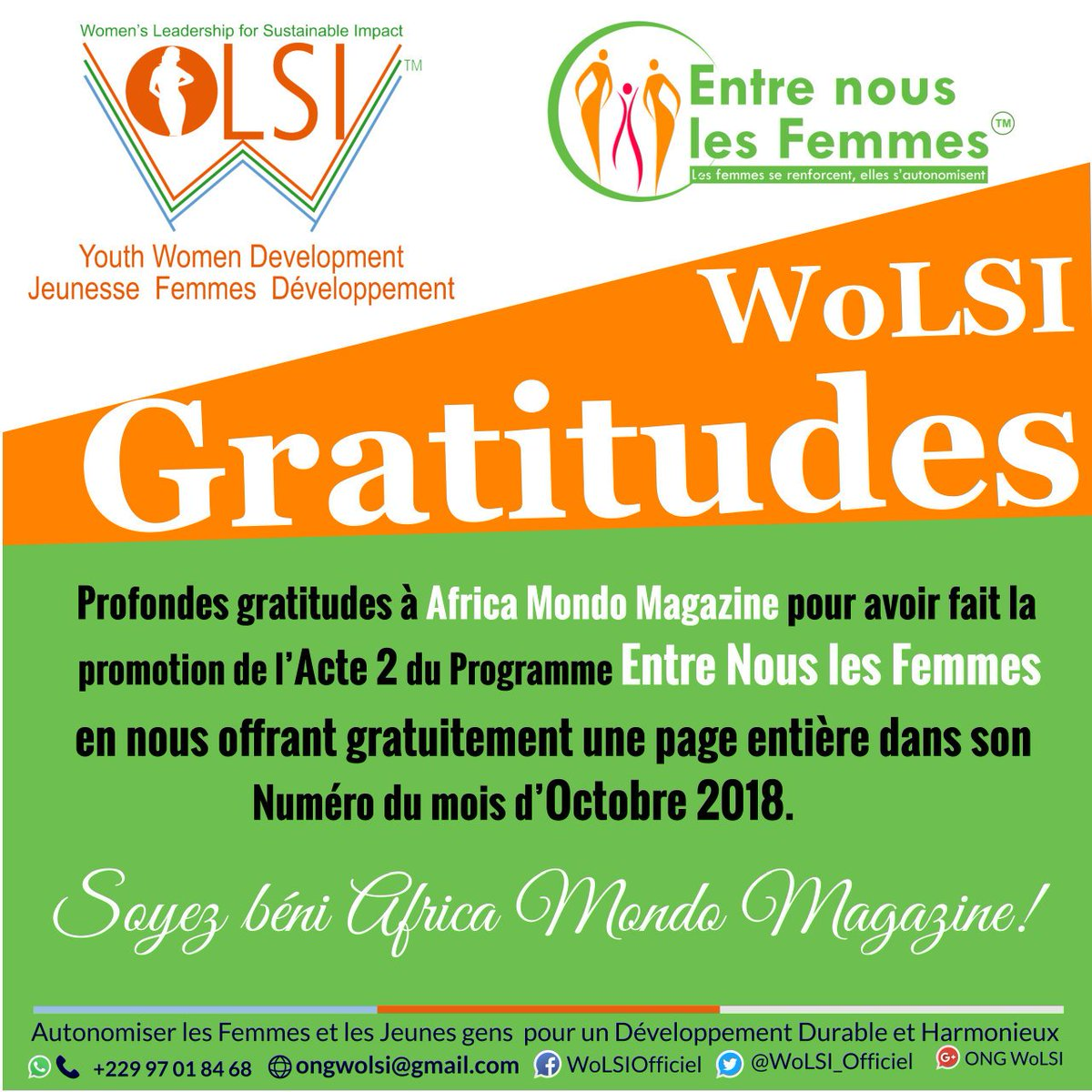 Ong Wolsi On Twitter La Reconnaissance Est La Mémoire Du