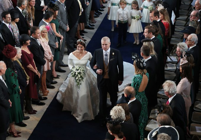 Thank you to everyone for watching and joining in with the #RoyalWedding celebrations - Congratulations once again to the happy couple! Read the full story: Photo
