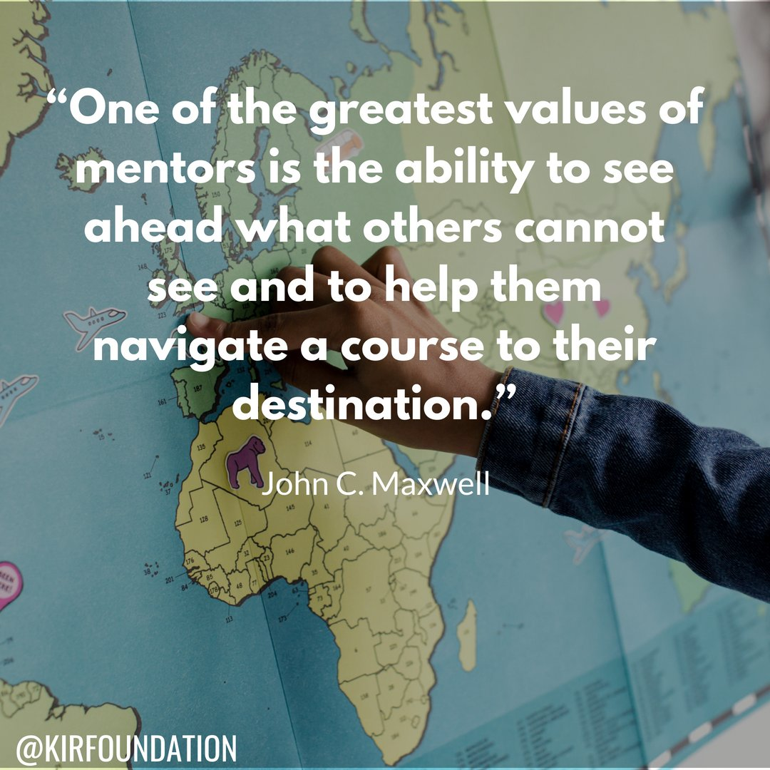 """One of the greatest values of mentors is the ability to see ahead what others cannot see and to help them navigate a course to their destination."" John C. Maxwell #FridayFeeling #FridayMotivation #royalweddding #BuenViernes <br>http://pic.twitter.com/m5f8piuiz7"