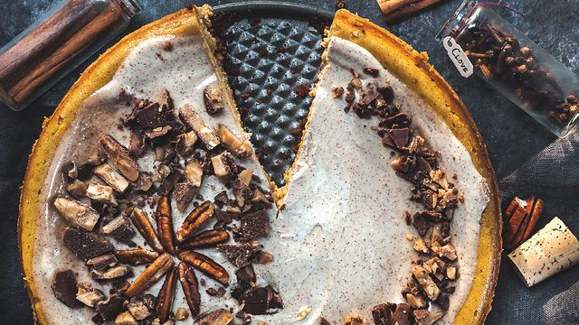 Happy National Pumpkin Pie Day! Check out this unique recipe. https://t.co/0U5oifkz6S https://t.co/Cd8v0LT43S