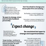 Wise Words on Change... #D123 #edchat #edtech #cpchat #pblchat #ntchat #kinderchat #elemchat #mschat #hschat #mathchat #scichat #engchat #sschat #earlyed #ellchat #spedchat #suptchat #libchat #edleaders #leadupchat #edleadership