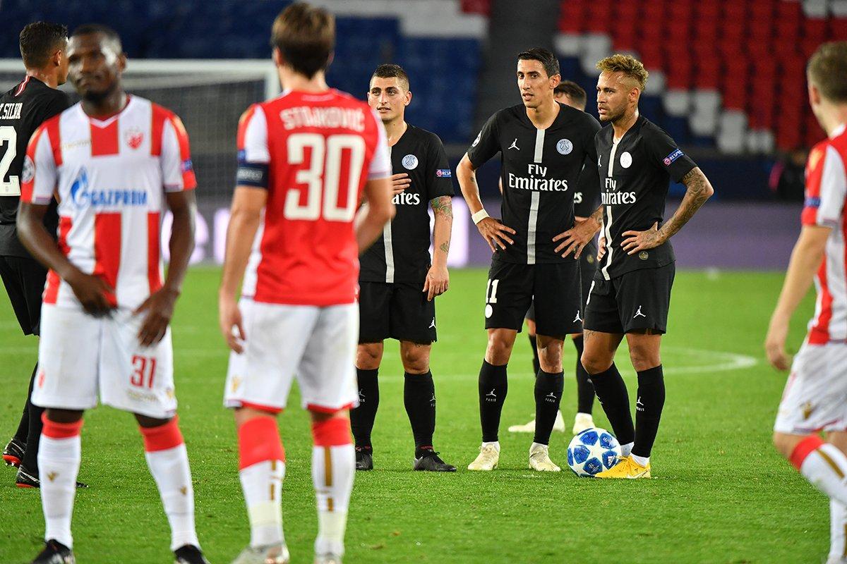 Exclu @lequipe ��  Soupçons de match truqué autour de PSG-Étoile Rouge de Belgrade https://t.co/vhLg9XKMzB https://t.co/u28p42Z8w8