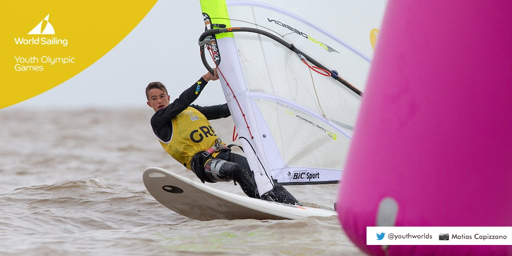 Today's morning report from the Youth Olympic Games for sailing!